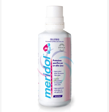 meridol Halitosis Linea Igiene Dentale Quotidiana Collutorio Alito Fresco 400ml