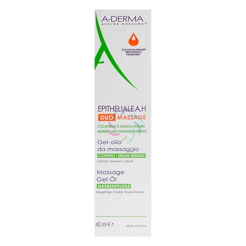 A-Derma Linea Epitheliale A.H. Duo Massage Gel Olio Pelli Fragilizzate 40 ml