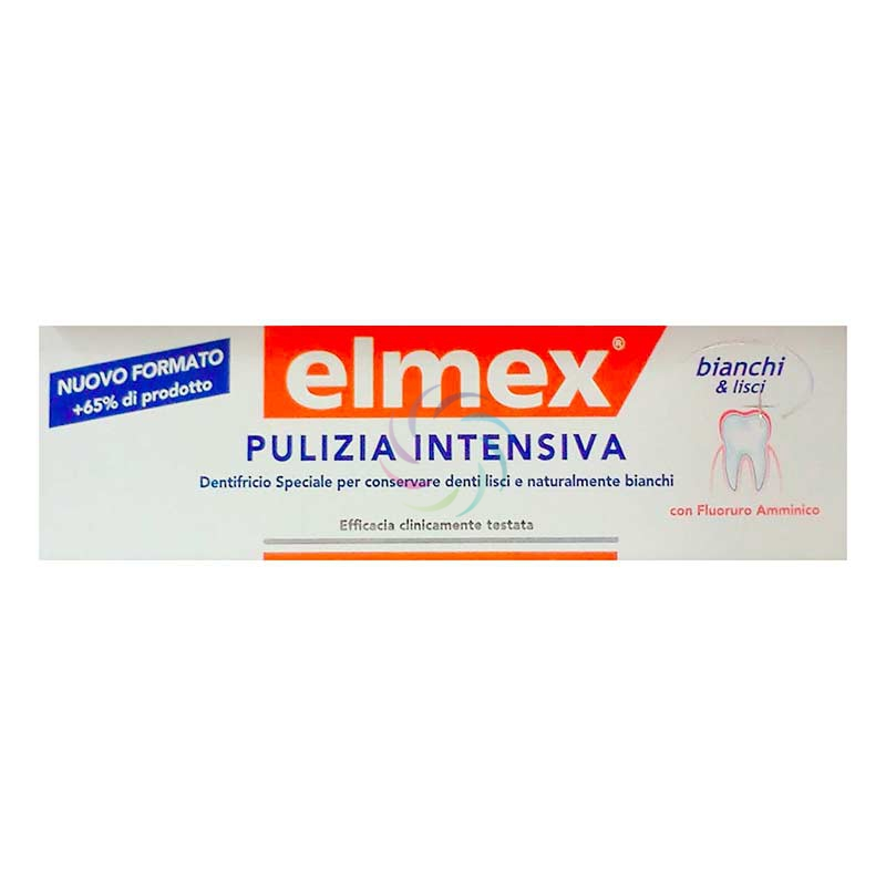 elmex Linea Igiene Dentale Quotidiana Dentifricio Pulizia Bianco Intenso 50 ml