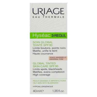 Uriage Linea Pelle Grassa Impura Hyseac 3 Regul Colorato Trattamento 3in1 40 ml